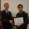 Matt Qassis - Winner of an Outstanding Student Employee Award