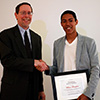 William Broughton - Winner of an Outstanding Student Employee Award