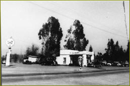 gas station at Devonshire and Balboa