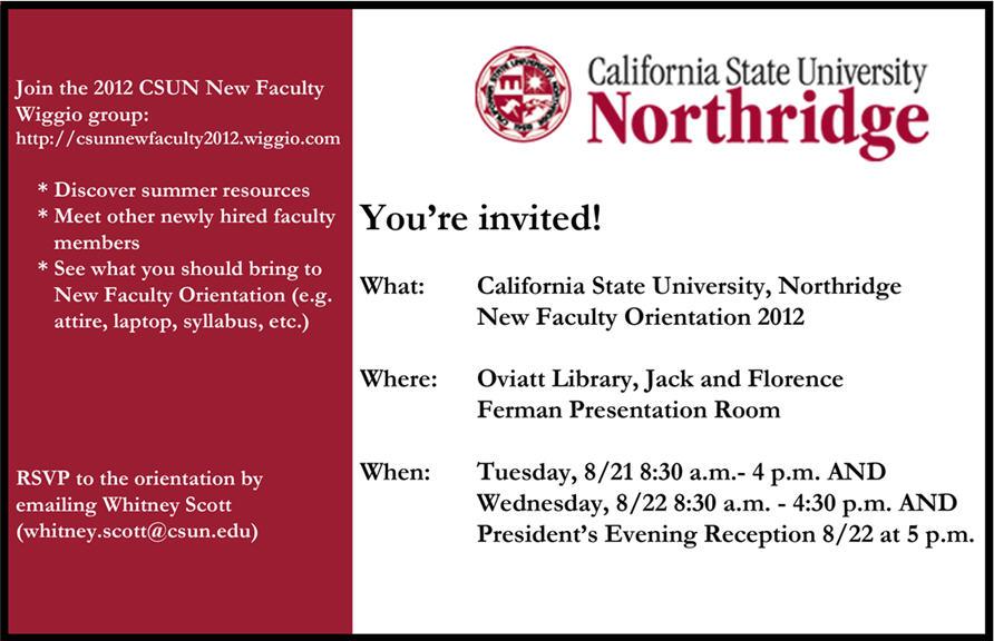 NFO invite