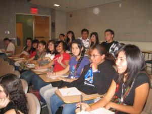 NAHS students