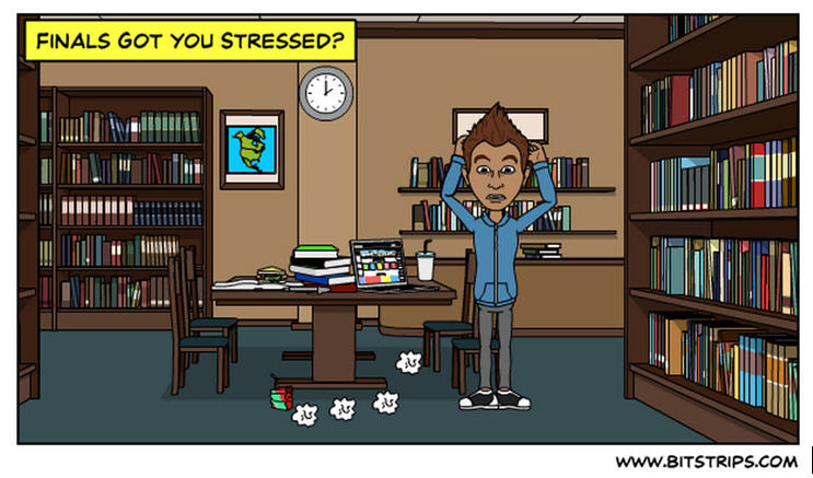 Finals Are You Stressed Comic