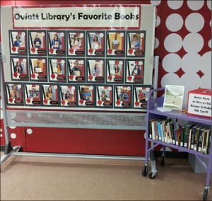 Oviatt Favorite Books display
