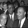Martin Luther King Jr. in a crowd