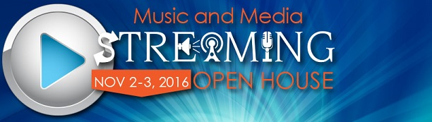 Music and Media Streaming Open House Nov 2-3, 2016