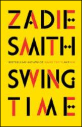 Swing Time book cover lettering