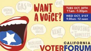 California Voter Forum