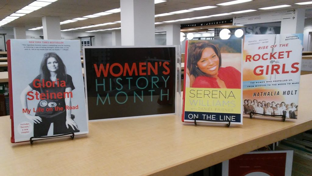 Books featuring Gloria Steinem and Serena Williams