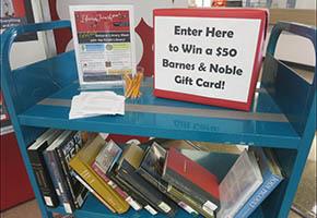 National Library Week Book Cart