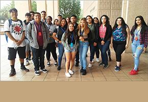 EOP Bridge Students Visit the Oviatt