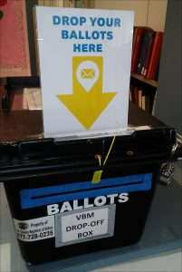 Vote by Mail Ballot Box