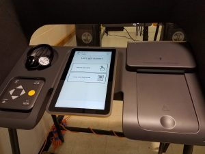 sample voting machine