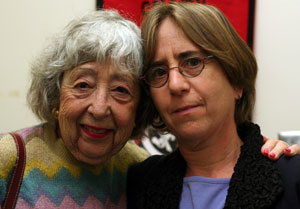 Anne Kogen with daugher Beth Wolfson
