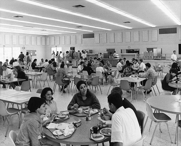 Cafeteria at Northridge Hall