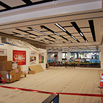 Construction in the Lobby