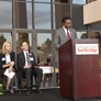 Vice President Watkins speaks at the Grand Opening