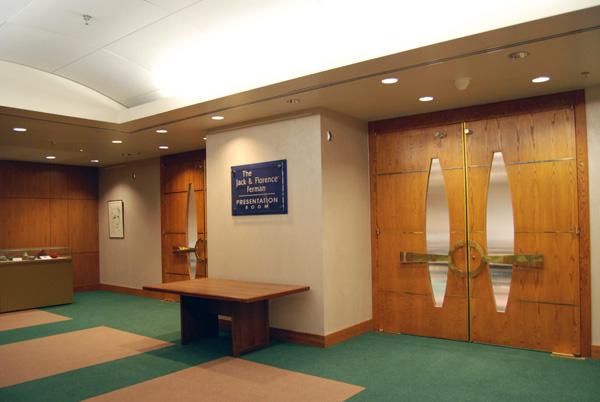 jack  u0026 florence ferman presentation room photo gallery