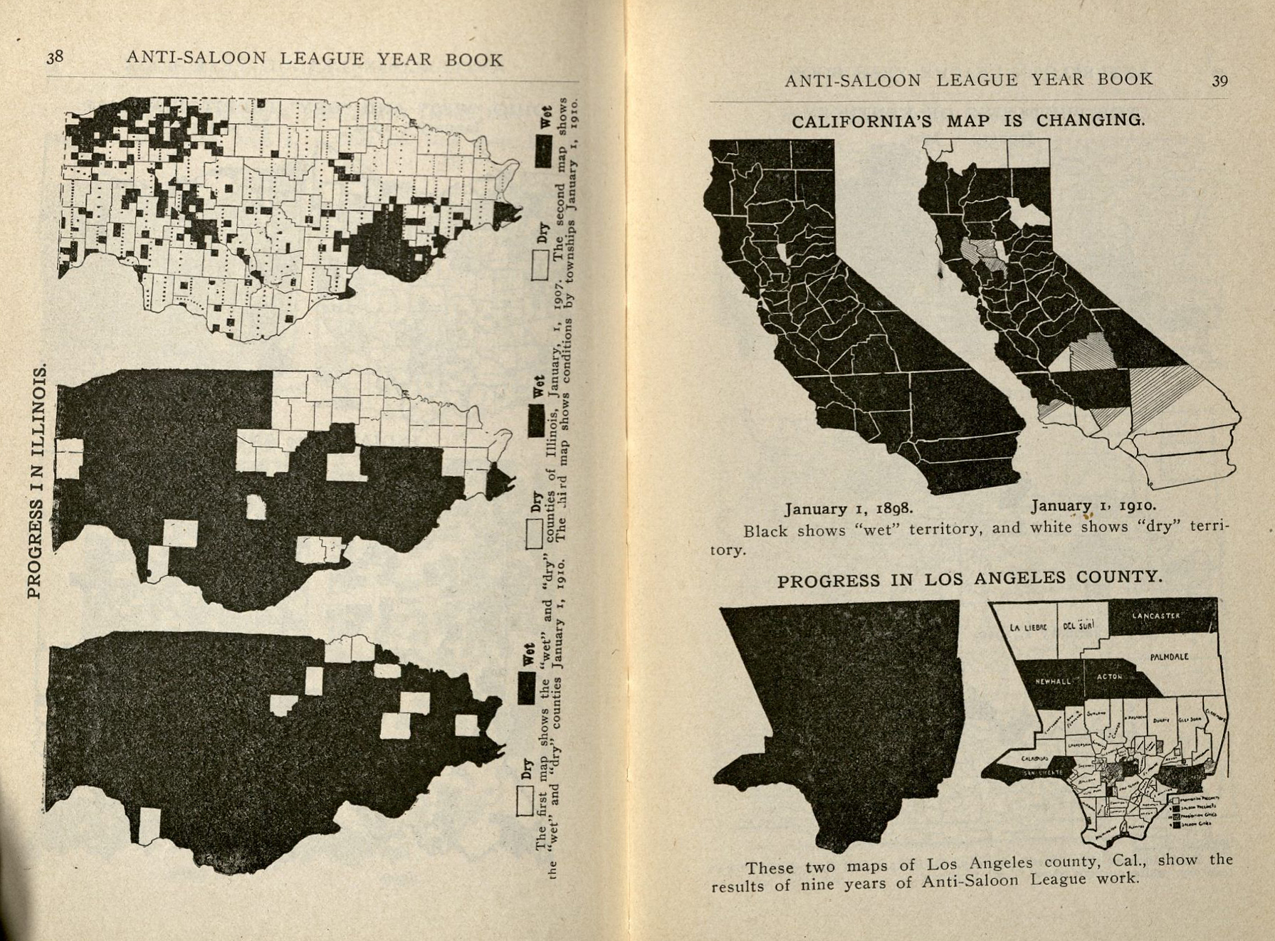 The Temperance Movement Oviatt Library - Us territorial influence 1914 map