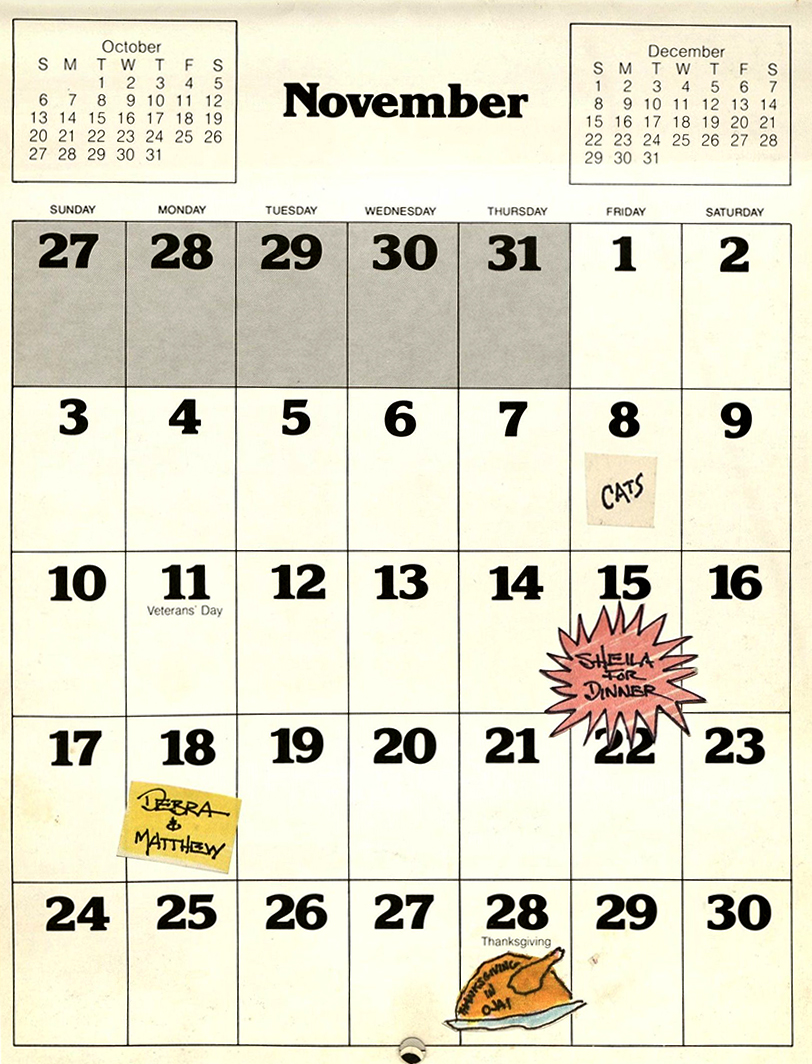 Quirky And Curious Calendars Oviatt Library