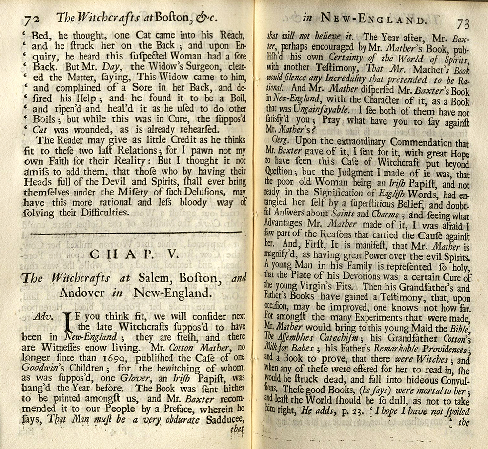 salem possessed essay Essay the salem witchcraft trials of 1692 4260 words | 18 pages the salem witchcraft trials of 1692 the salem witchcraft trials of 1692, which resulted in 19 executions, and 150 accusations of witchcraft, are one of the historical events almost everyone has heard of.