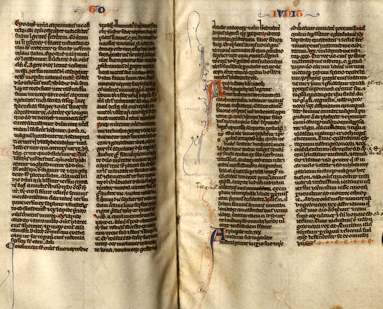 Manuscript Bibles from the Middle Ages   Oviatt Library