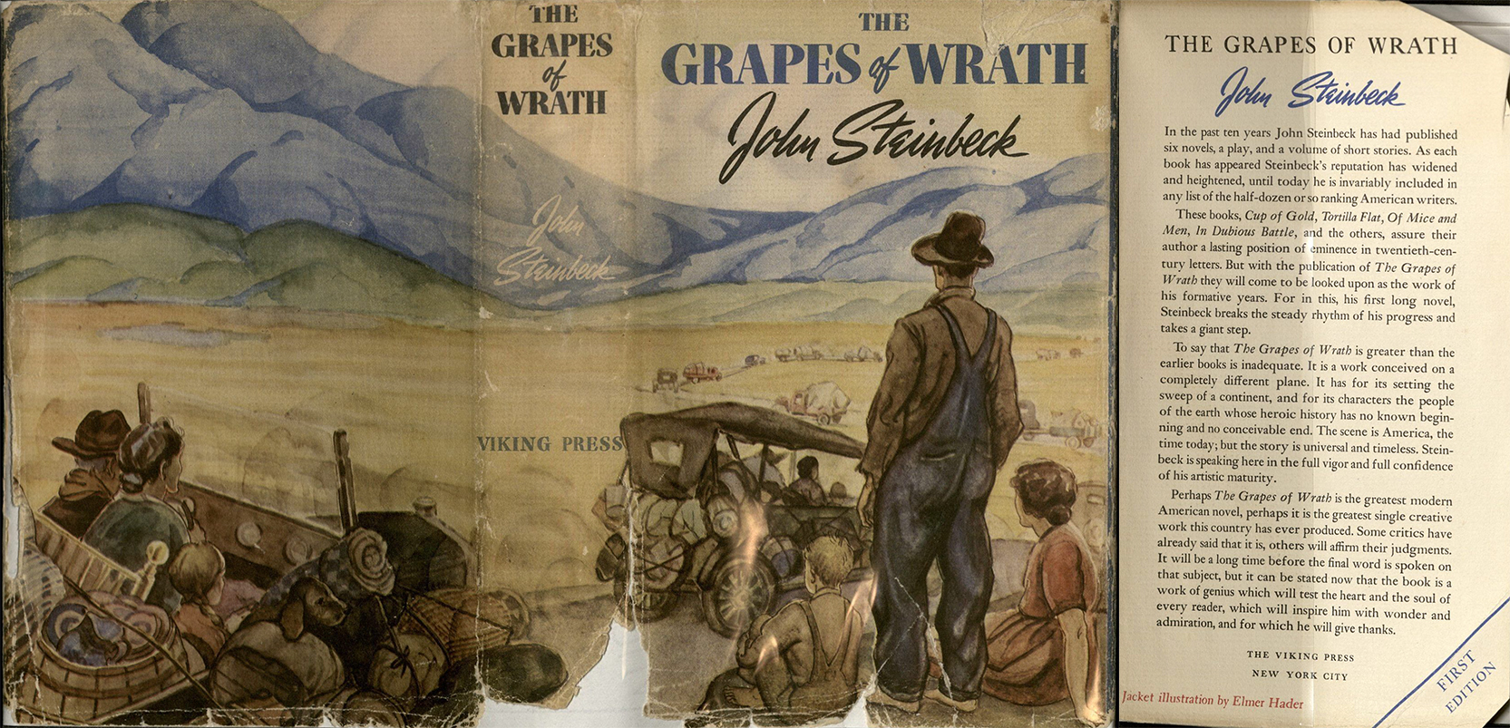 the theme of individual and society in the grapes of wrath by john steinbeck and the catcher in the  Volume vi, number 1, spring 2010 americas myths and contexts in john steinbeck's the grapes of wrath by gabriella tóth gabriella tóth is student at.