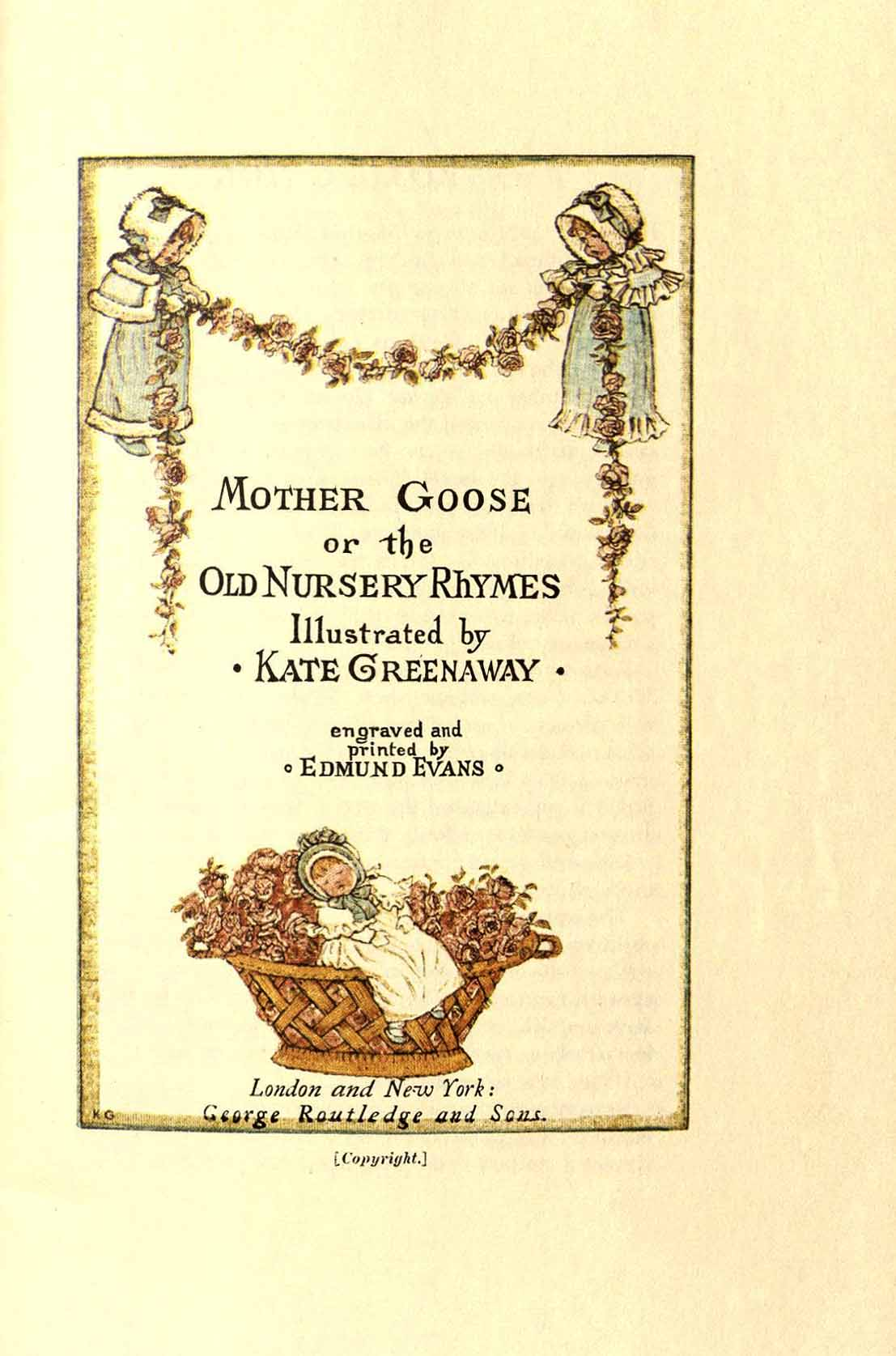 Nursery Rhymes | Oviatt Library