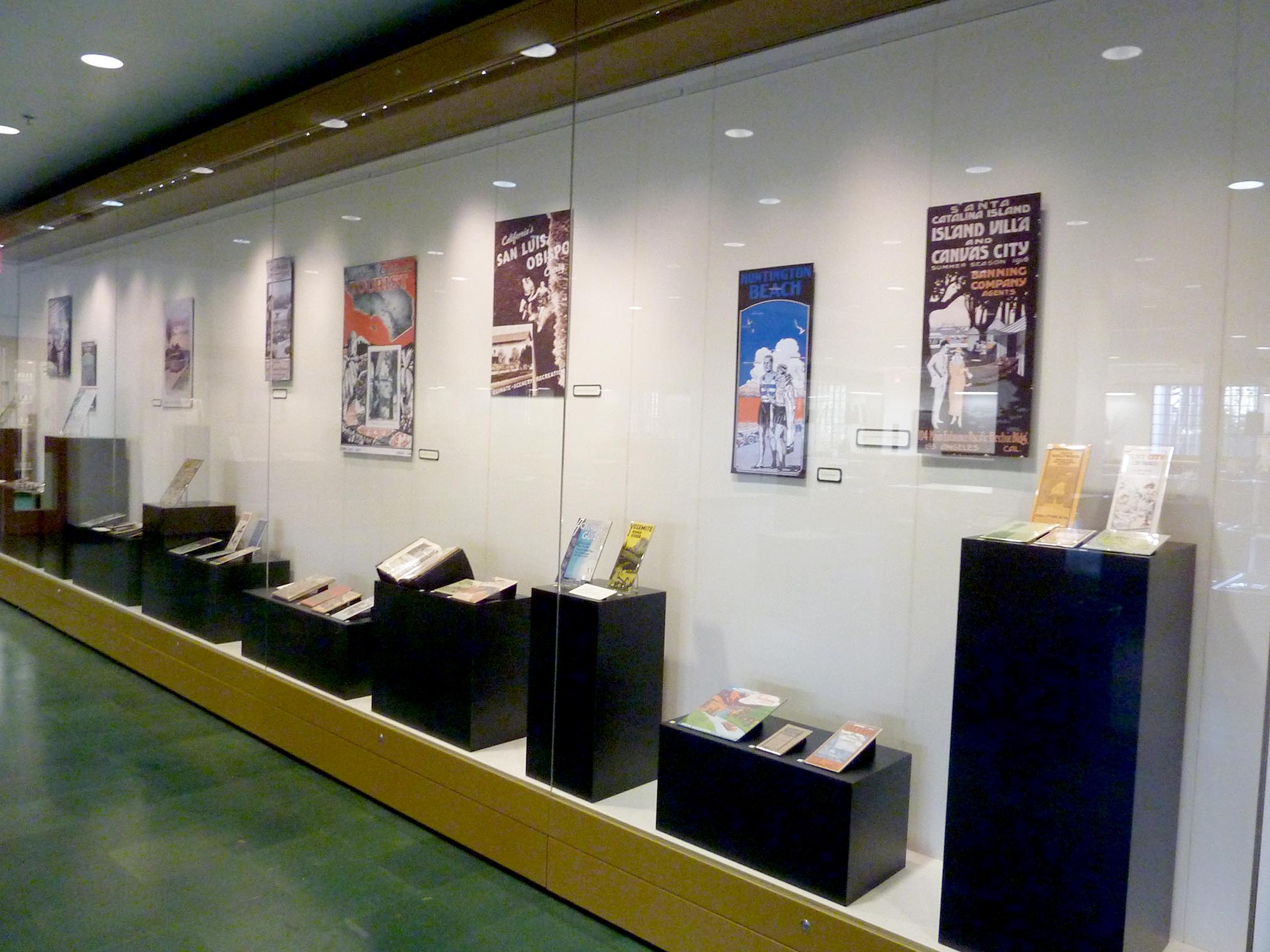 Library Gallery during California's Call