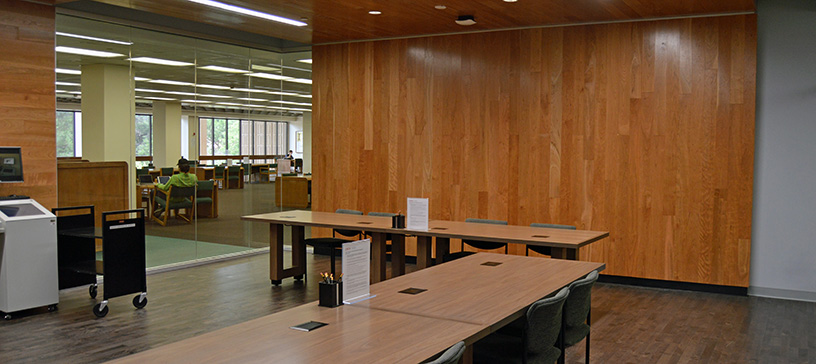 Oviatt Library Special Collections & Archives Storage Room