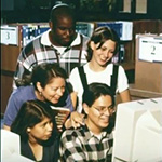 Karin J Duran and Students in the Teacher Curriculum Center