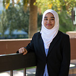Oviatt Library Student Assistant Meharaj Khanam