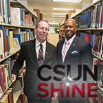 Dean Mark Stover and Dr. Brandon Martin