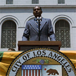 Former Mayor Tom Bradley