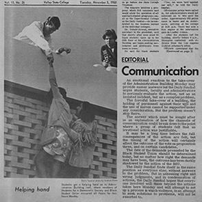 Daily Sundial November 5, 1968
