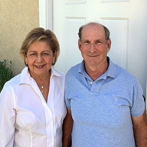 Yolanda and Jeff Heller