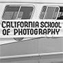 California school of photography sign on a bus