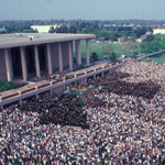 Commencement ceremony, May 1982