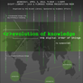 Revolution of Knowledge: the Digital Order of Things
