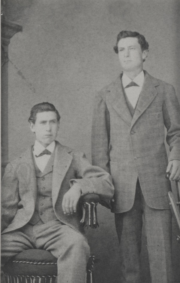 Brothers, Hugh Patrick (left) and William Mulholland (right).