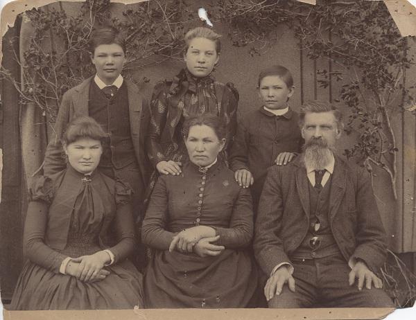 The Isaac and Edith Ijams family.