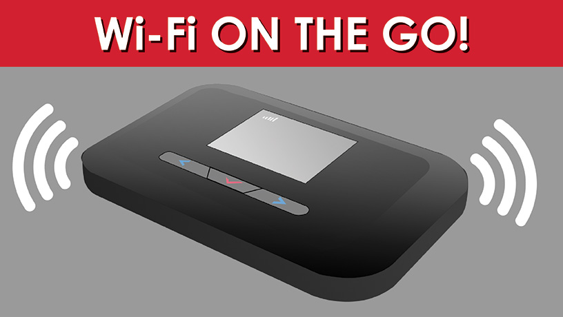 Wi-fi on the go! Mobile hotspots now available