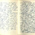 """Diary entry for December 7, 1941, Pearl Harbor Day: """"All the world knows what happened today . . ."""""""