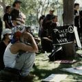 CSUN students protest war after September 11