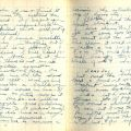"Diary entry for December 9, 1941: ""[W]e have blackout every nite and no matches even . . ."""