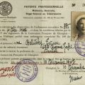 Dental License for the French Concession, 1942