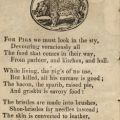 A description of pigs for children in Book of Beasts, page 10