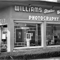 Exterior of Williams Studio West, Charles Williams' photography studio