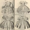 Children's Dresses, from Godey's Lady's Book, pages 106-107. AP1 .G55 v.62-63 1861