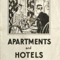 Los Angeles Apartments and Hotels brochure cover.