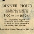 Notification of dinner on Fleming's return to Honolulu, May 29, 1942.